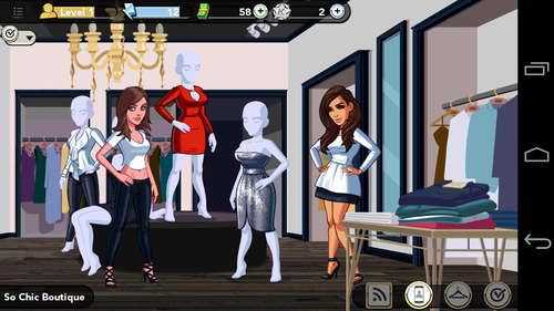 Screenshot from Kim Kardashian: Hollywood