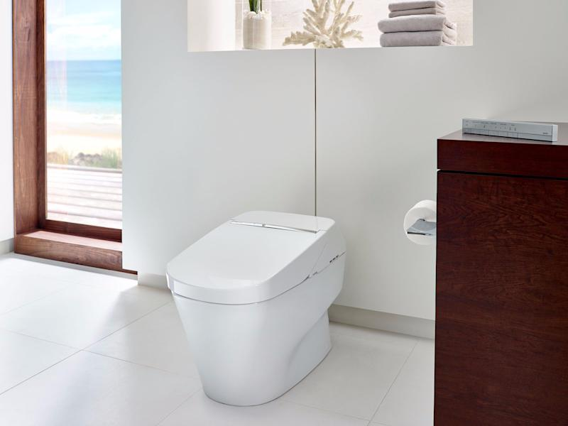 I tried the \'Mercedes Benz of toilets\' that comes with a remote ...