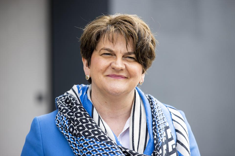 <p>Arlene Foster will step down as leader of the DUP on May 28</p> (PA Wire)