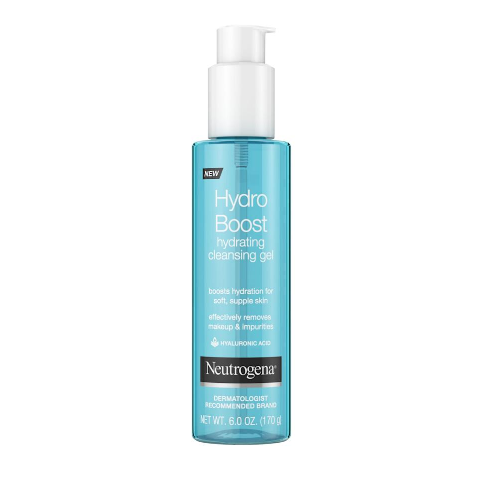 """<p><strong>Neutrogena</strong></p><p>walmart.com</p><p><strong>$7.74</strong></p><p><a href=""""https://go.redirectingat.com?id=74968X1596630&url=https%3A%2F%2Fwww.walmart.com%2Fip%2F191282896&sref=https%3A%2F%2Fwww.thepioneerwoman.com%2Fbeauty%2Fg34963365%2Fbest-gel-cleansers%2F"""" rel=""""nofollow noopener"""" target=""""_blank"""" data-ylk=""""slk:Shop Now"""" class=""""link rapid-noclick-resp"""">Shop Now</a></p><p>This hypoallergenic formula is great for sensitive skin as well as dry skin—hyaluronic acid locks in moisture. It also doubles as a makeup remover! </p>"""