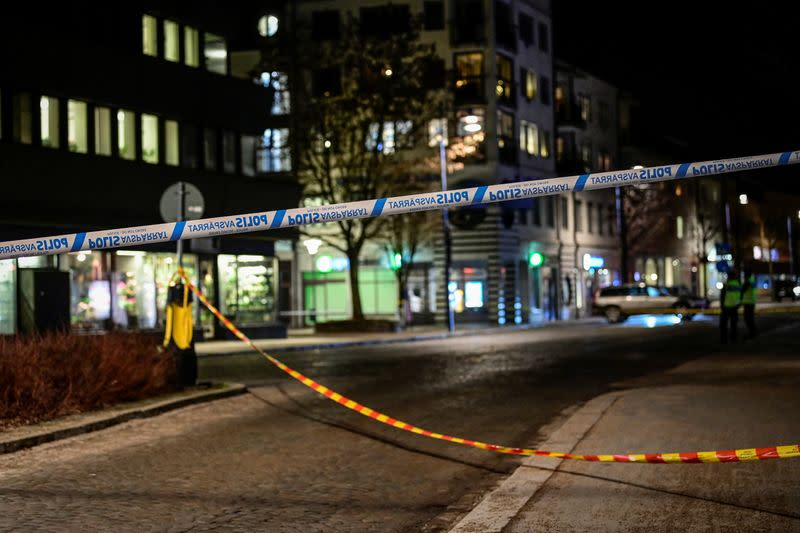 Knife attack in Vetlanda