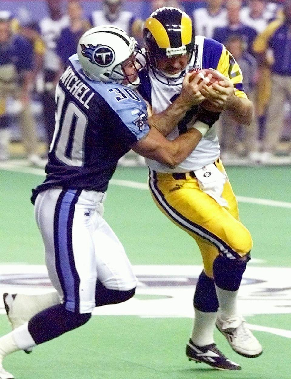 <p><strong>Age at the Time of Super Bowl XXXIV: </strong>40 years old </p> <p>The punter played in the St. Louis Rams' 2000 Super Bowl appearance.</p>