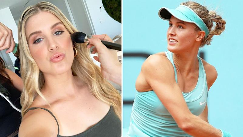 Pictured here, Canadian tennis star Eugenie Bouchard.