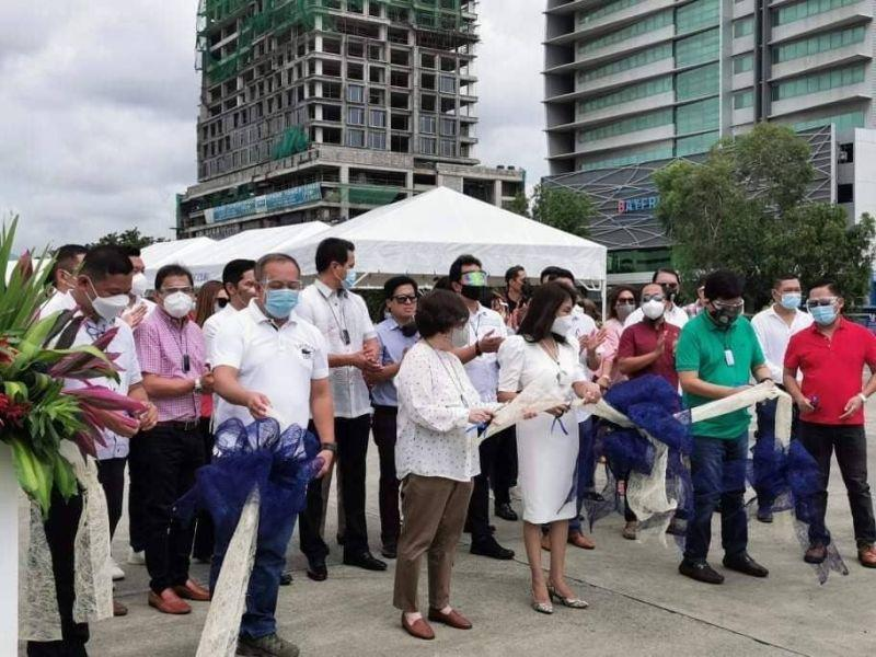 North bus terminal opens on SM City Cebu grounds