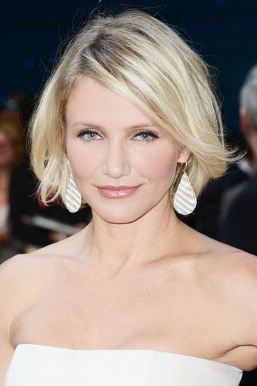 """<div class=""""caption-credit""""> Photo by: Dave J Hogan/Getty Images Entertainment</div><div class=""""caption-title"""">Cameron Diaz's Beachy Bob</div>The imperfect edges and tousled texture make this cut forgiving on every face type and super easy to maintain. <br> <br> <p>  <b>Read more:</b> </p> <p>  <b><a rel=""""nofollow"""" href=""""http://www.harpersbazaar.com/beauty/makeup-articles/best-waterproof-mascaras?link=rel&dom=yah_life&src=syn&con=blog_blog_hbz&mag=har"""" target="""""""">Waterproof Mascaras That Never Smudge</a></b> </p> <p>  <b><a rel=""""nofollow"""" href=""""http://www.harpersbazaar.com/beauty/hair-articles/celebrity-haircuts-every-age-0610?link=rel&dom=yah_life&src=syn&con=blog_blog_hbz&mag=har"""" target="""""""">The Best Haircuts for Every Age</a></b> </p> <br>"""