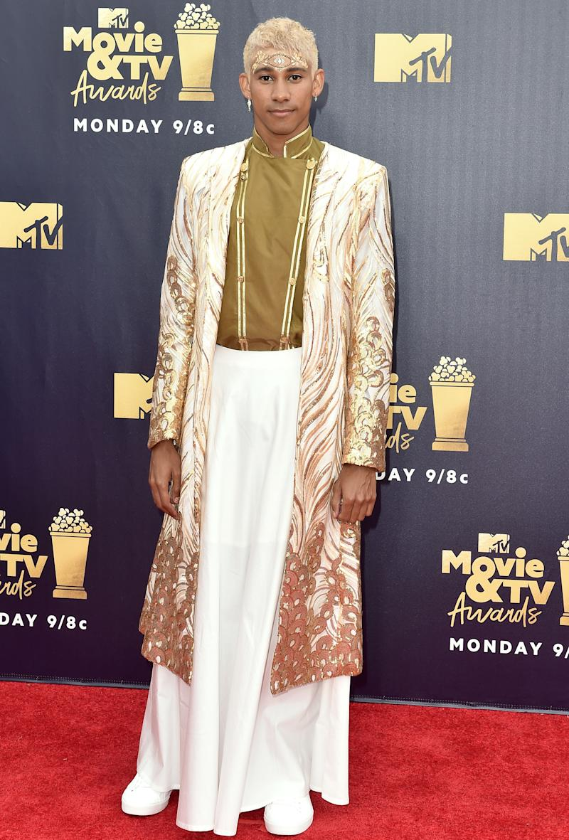 96fba17dbd5 Keiynan Lonsdale at the 2018 MTV Movie And TV Awards in Santa Monica