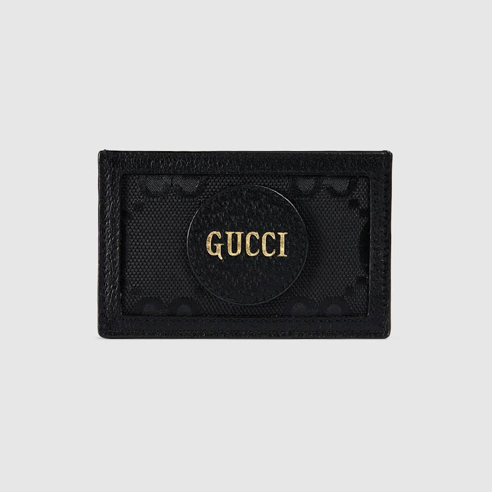 "<p><a href=""https://www.popsugar.com/buy/Gucci-Off-Grid-Card-Case-584678?p_name=Gucci%20Off%20the%20Grid%20Card%20Case&retailer=gucci.com&pid=584678&price=250&evar1=fab%3Aus&evar9=47573194&evar98=https%3A%2F%2Fwww.popsugar.com%2Ffashion%2Fphoto-gallery%2F47573194%2Fimage%2F47573302%2FGucci-Off-Grid-Card-Case&list1=gucci%2Ceco%20fashion&prop13=mobile&pdata=1"" class=""link rapid-noclick-resp"" rel=""nofollow noopener"" target=""_blank"" data-ylk=""slk:Gucci Off the Grid Card Case"">Gucci Off the Grid Card Case</a> ($250)</p>"