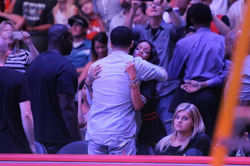 Three years later, the pair were spotted on a rumored date at a Los Angeles Lakers basketball game in April 2014.