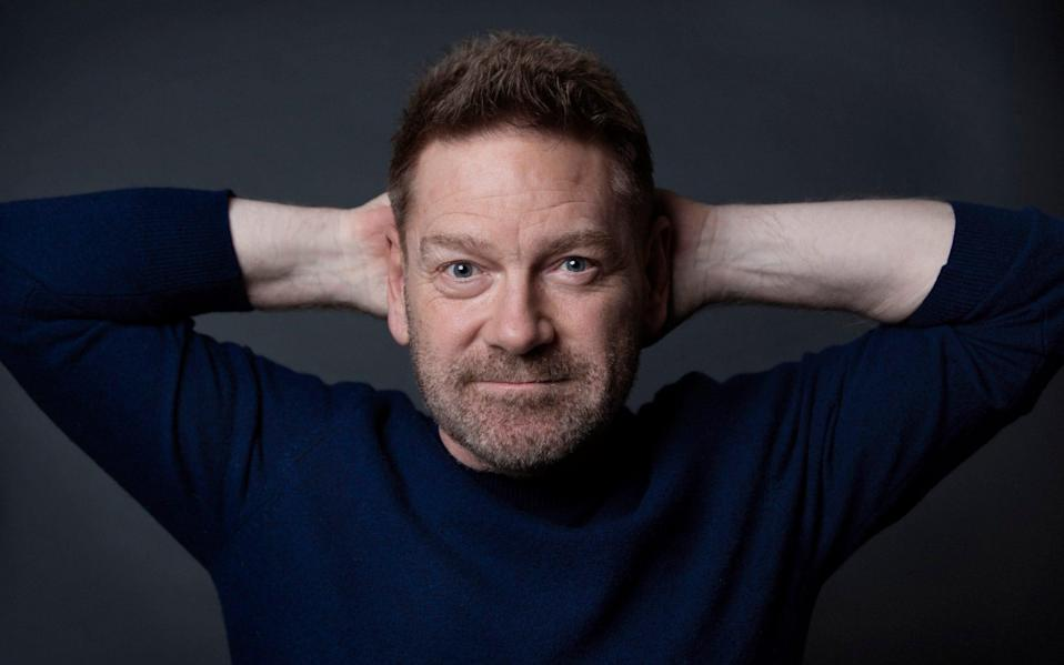 Sir Kenneth Branagh pictured at Soho Hotel - Rii Schroer