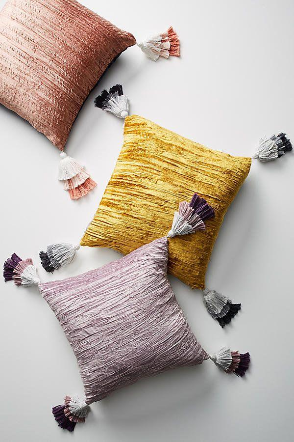 "<a href=""https://www.anthropologie.com/shop/tasseled-velvet-pillow?category=SEARCHRESULTS&color=053"" target=""_blank"">Shop them here</a>."