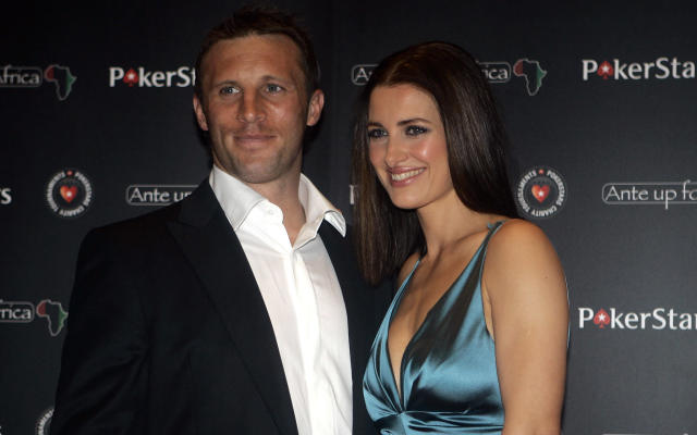 Kirsty Gallacher and Paul Sampson split in 2015. (AP Photo/Lionel Cironneau)