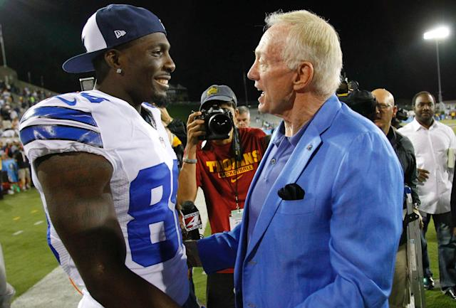 The door is open for a Dez Bryant return to the Cowboys. (Rodger Mallison/Fort Worth Star-Telegram via Getty Images)