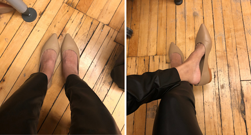 The 40-Hour Flat in Taupe (my perfect shade of nude)