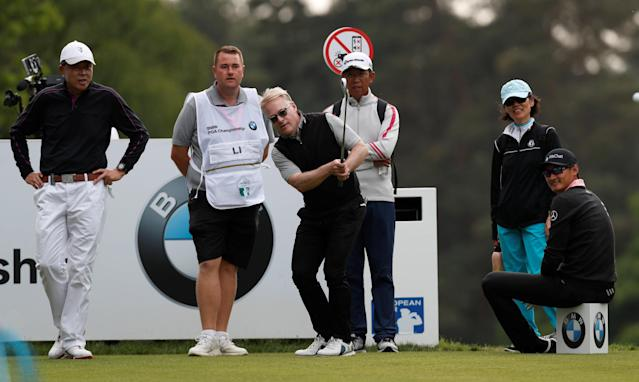 Golf - European Tour - BMW PGA Championship - Wentworth Club, Virginia Water, Britain - May 23, 2018 CEO of the PGA European Tour Keith Pelley during the Pro-AM Action Images via Reuters/Paul Childs