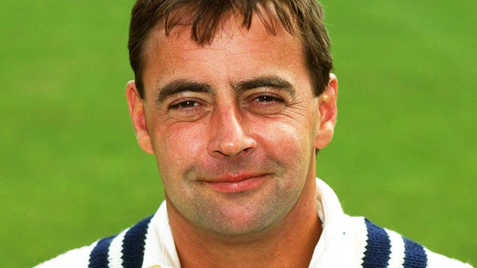 Graham Cowdrey, pictured here at a Kent photo session in 1998.