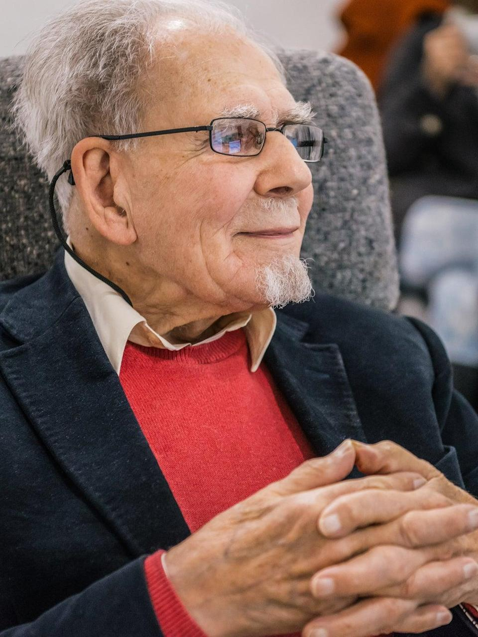 In honour of Stephen Wilkinson's 100th birthday in 2019, the BBC Singers broadcast a special recital including a broadcast premiere of Dover Beach (Andrew Wilkinson Photography)