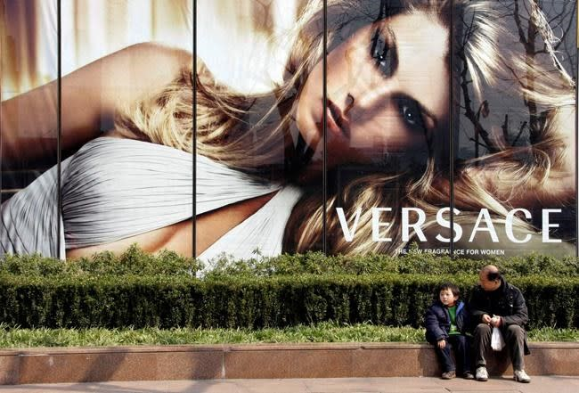 Versace apologises for a T-shirt that triggered criticism from China