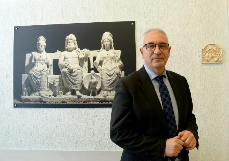 Michel Barbet is the first Five Star mayor in the industrial town of Guidonia near Rome, Italy
