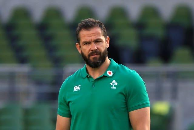 Ireland head coach Andy Farrell has been given plenty to ponder during the off season