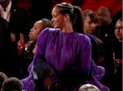 """<p>Singer <strong>Rihanna</strong> is the queen of protective styles and we're loving this pretty braided <a href=""""https://www.goodhousekeeping.com/beauty/hair/tips/g1717/celebrity-hairstyles-ponytail/"""" rel=""""nofollow noopener"""" target=""""_blank"""" data-ylk=""""slk:ponytail"""" class=""""link rapid-noclick-resp"""">ponytail</a>. Add a simple cornrow into the ponytail and smooth the rest of the crown of hair, and it's a chic yet easy style to achieve. This is a great protective style for relaxed hair as it's sleek and won't require you to put a lot of heat on your hair. </p>"""