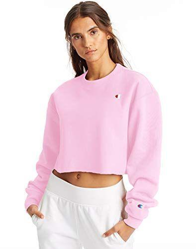 """<p><strong>Cropped Cut Off Crew</strong></p><p>amazon.com</p><p><strong>55.00</strong></p><p><a href=""""https://www.amazon.com/dp/B079JZPQ2G?tag=syn-yahoo-20&ascsubtag=%5Bartid%7C2141.g.36840253%5Bsrc%7Cyahoo-us"""" rel=""""nofollow noopener"""" target=""""_blank"""" data-ylk=""""slk:Shop Now"""" class=""""link rapid-noclick-resp"""">Shop Now</a></p><p>Comfortable and timeless, <strong><a href=""""https://www.amazon.com/stores/Champion/page/9315F82B-8BDF-4711-8450-2428416D0F96?tag=syn-yahoo-20&ascsubtag=%5Bartid%7C2141.g.36840253%5Bsrc%7Cyahoo-us"""" rel=""""nofollow noopener"""" target=""""_blank"""" data-ylk=""""slk:Champion"""" class=""""link rapid-noclick-resp"""">Champion</a></strong> has a shirt, sweatshirt, or pair of pants for any occasion. The <a href=""""https://www.amazon.com/Champion-Womens-Reverse-Weave-Cropped/dp/B079JY4LC3?th=1&tag=syn-yahoo-20&ascsubtag=%5Bartid%7C2141.g.36840253%5Bsrc%7Cyahoo-us"""" rel=""""nofollow noopener"""" target=""""_blank"""" data-ylk=""""slk:Reverse Weave Cropped Cut-Off Crew"""" class=""""link rapid-noclick-resp"""">Reverse Weave Cropped Cut-Off Crew</a> is the perfect length to throw over a workout top for a post-run errand, or a tucked in camisole for a more work-appropriate look.</p>"""