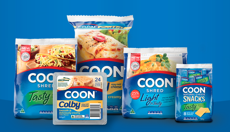 There have been renewed calls for the Coon cheese name to be changed. Source: coon.com.au