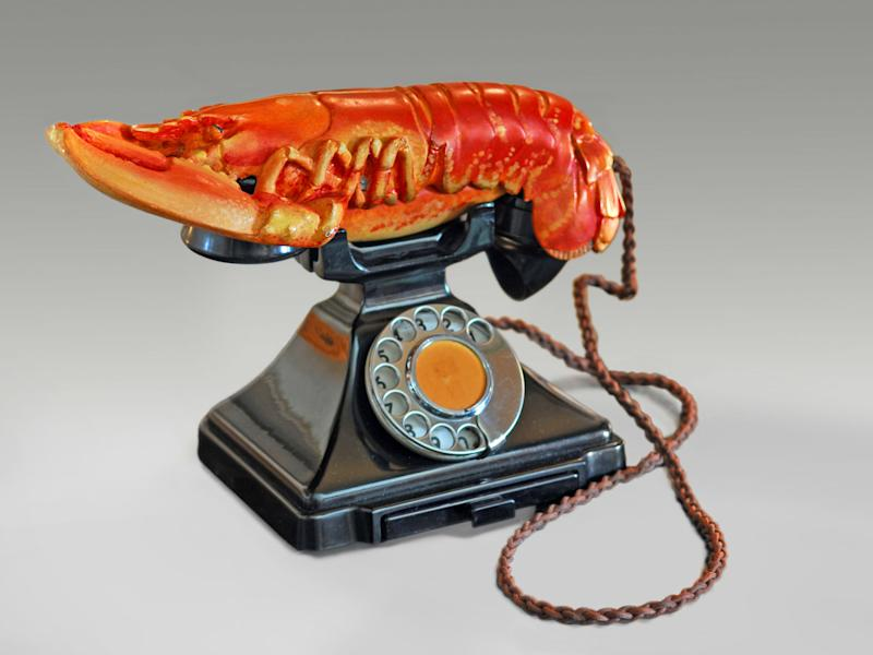 Salvador Dalí with the collaboration of Edward James, 'Lobster Telephone', 1938: © Salvador Dalí, Fundació Gala-Salvador Dalí, DACS 2017