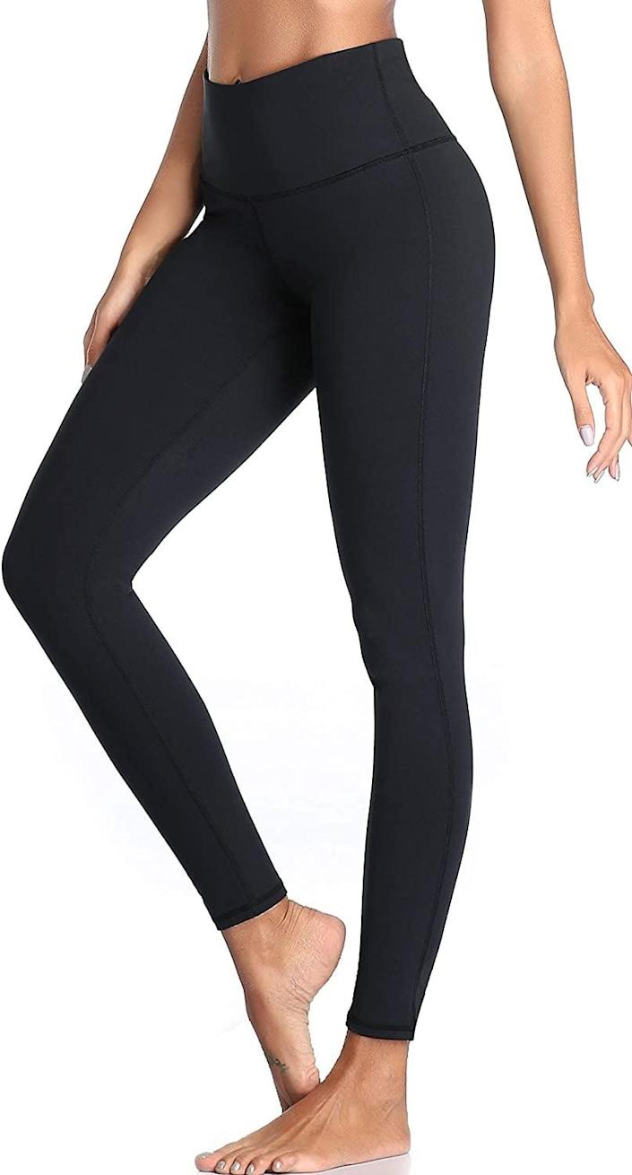 """<p>These <span>Oalka Women Power Flex Yoga Pants</span> ($21) have hundreds of positive reviews, with one customer claiming """"these are the perfect workout pants!""""</p>"""