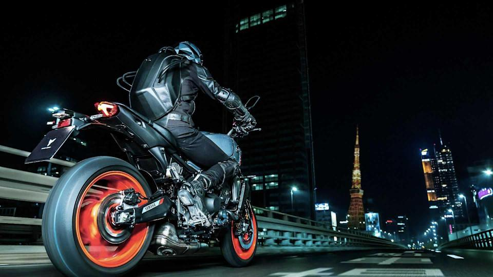 2021 Yamaha MT-09 Leaked Pictures, 3/4 Back