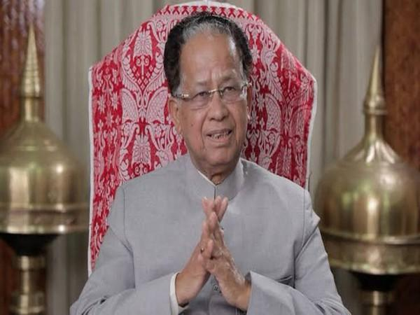 Former Assam Chief Minister Tarun Gogoi (Photo/Twitter/Srinivas BV)