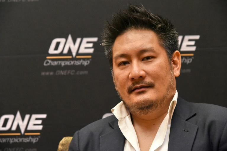 Chatri Sityadtong, chairman and CEO of ONE Championship, Asia's largest MMA promotion (AFP Photo/ROSLAN RAHMAN)