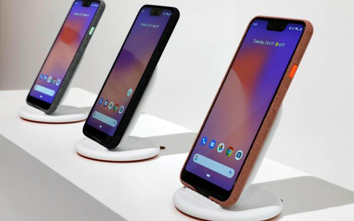 Google has recently brought out a Pixel 3 smartphone, yet another push to promote its software - AP
