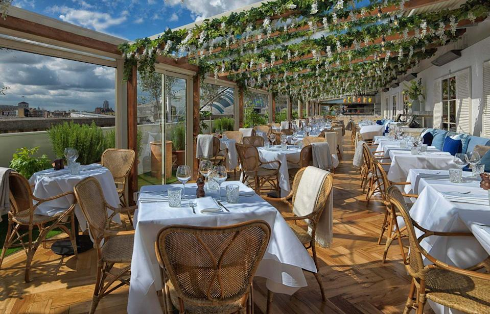 <p>Set on the rooftop of the bustling Oxford Street flagship store, Alto us an ideal spot to eat some pasta, have a cocktail and admire the views once you've headed back to the high street.</p>