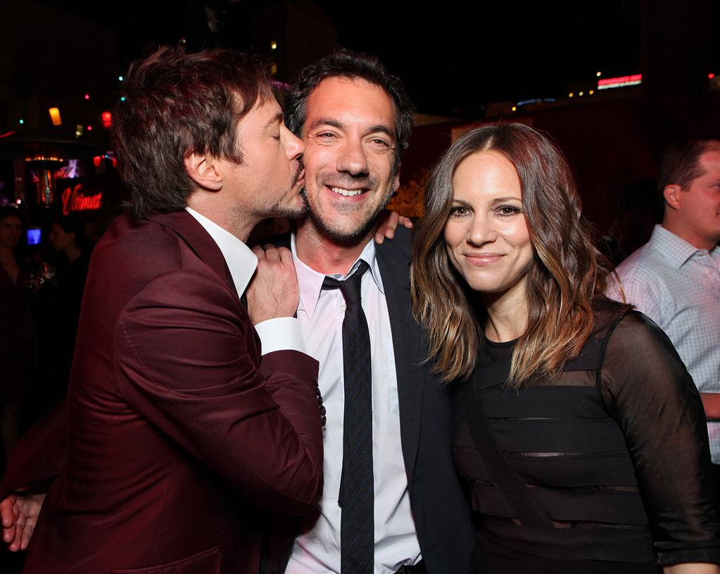 "<a href=""http://movies.yahoo.com/movie/contributor/1800010914"">Robert Downey Jr.</a>, <a href=""http://movies.yahoo.com/movie/contributor/1800189154"">Todd Phillips</a> and <a href=""http://movies.yahoo.com/movie/contributor/1808430145"">Susan Downey</a> attend the Los Angeles premiere of <a href=""http://movies.yahoo.com/movie/1810187722/info"">The Hangover Part II</a> on May 19, 2011."
