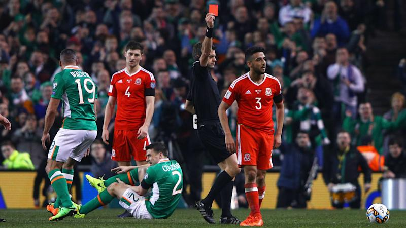 Republic of Ireland 0 Wales 0: Seamus Coleman suffers horror injury in Dublin stalemate
