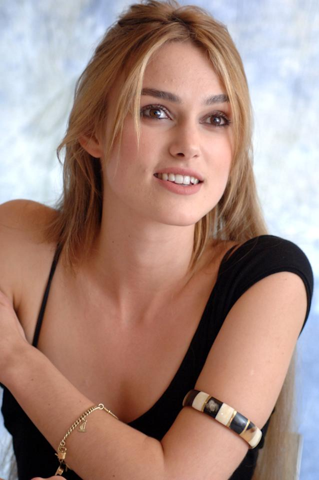 "Keira Knightley discussed the process of picking out her body double for a striptease scene in ""Domino"": ""I went into a room with Tony Scott, the director, and these three women came in and just dropped their trousers and he was like, 'Well, which one do you want?' And how do you say to the bottom double, do you say, 'Well I don't want that one, that one's crap,' well obviously you don't because the woman's standing there,"" she said. ""I was just looking for one that's around the same shape as mine, just a bit better. … You don't get a feel. They then go out and you discuss the bottom. … The girl we picked had a lovely bottom."""