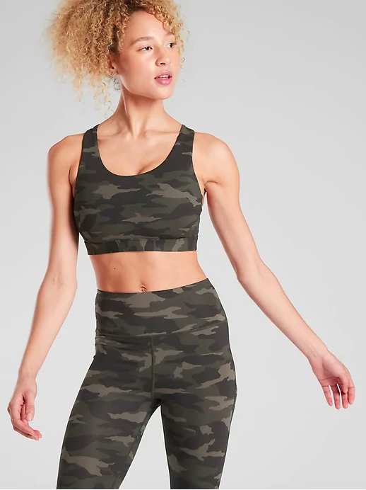 """<h2>Athleta Ultimate Printed Bra</h2> <br>I don't always run without a shirt, but when I do, I want a bra that looks cool. Enter: This cameo-printed option. I love Athleta because the brand never sacrifices quality and function for style. This bra's SuperSonic fabric has the right amount of supportive compression. (There's an A to C and a D to DD version.)<br><br><strong>Athleta</strong> Ultimate Printed Bra, $, available at <a href=""""https://go.skimresources.com/?id=30283X879131&url=https%3A%2F%2Fathleta.gap.com%2Fbrowse%2Fproduct.do%3Fpid%3D531143012%26vid%3D1%23pdp-page-content"""" rel=""""nofollow noopener"""" target=""""_blank"""" data-ylk=""""slk:Athleta"""" class=""""link rapid-noclick-resp"""">Athleta</a><br>"""