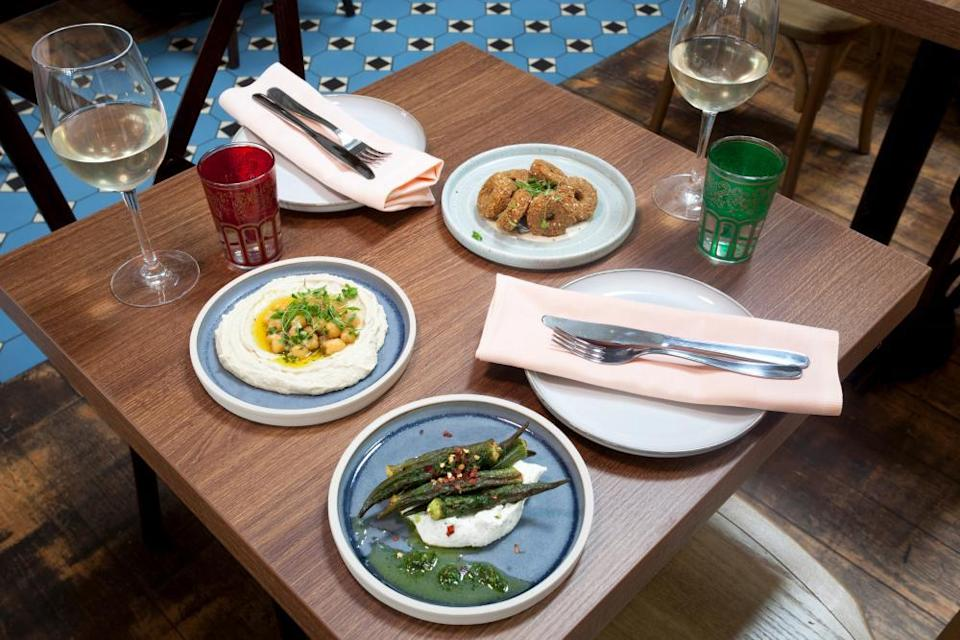 Traditional Syrian cuisine has proved popular in London.