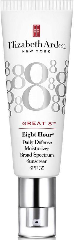 """<h3><strong>Elizabeth Arden Great 8 Daily Defense Moisturizer SPF 35</strong></h3><br>The iconic skin-care brand's Eight Hour Cream is beloved by dermatologists and makeup artists alike for its long-lasting hydrating properties and naturally dewy finish. Add in some SPF, and we've got a new summer must-have.<br><br><strong>Elizabeth Arden</strong> Great 8 Daily Defense Moisturizer SPF 35, $, available at <a href=""""https://go.skimresources.com/?id=30283X879131&url=https%3A%2F%2Fwww.ulta.com%2Fgreat-8-daily-defense-moisturizer-spf-35%3FproductId%3Dpimprod2006702"""" rel=""""nofollow noopener"""" target=""""_blank"""" data-ylk=""""slk:Ulta Beauty"""" class=""""link rapid-noclick-resp"""">Ulta Beauty</a>"""