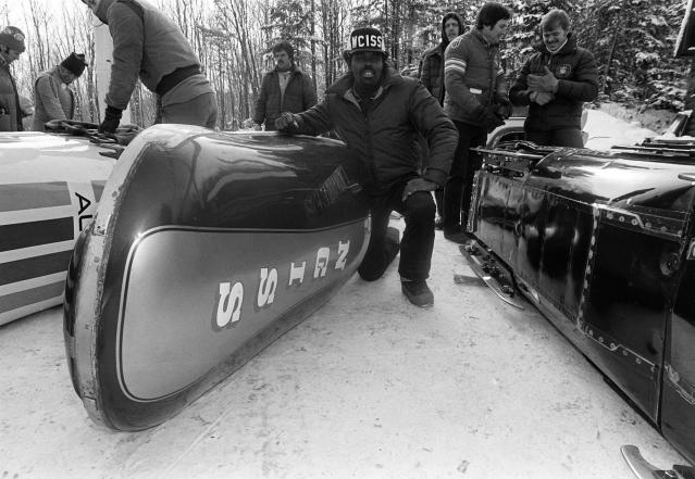 <p>Davenport returned to the Olympics in 1980, as a bobsledder, becoming the first African American to represent the USA at the Winter Games. (AP) </p>