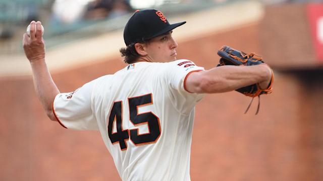 Losers of three straight, the Giants will look to Derek Holland to snap their losing streak.