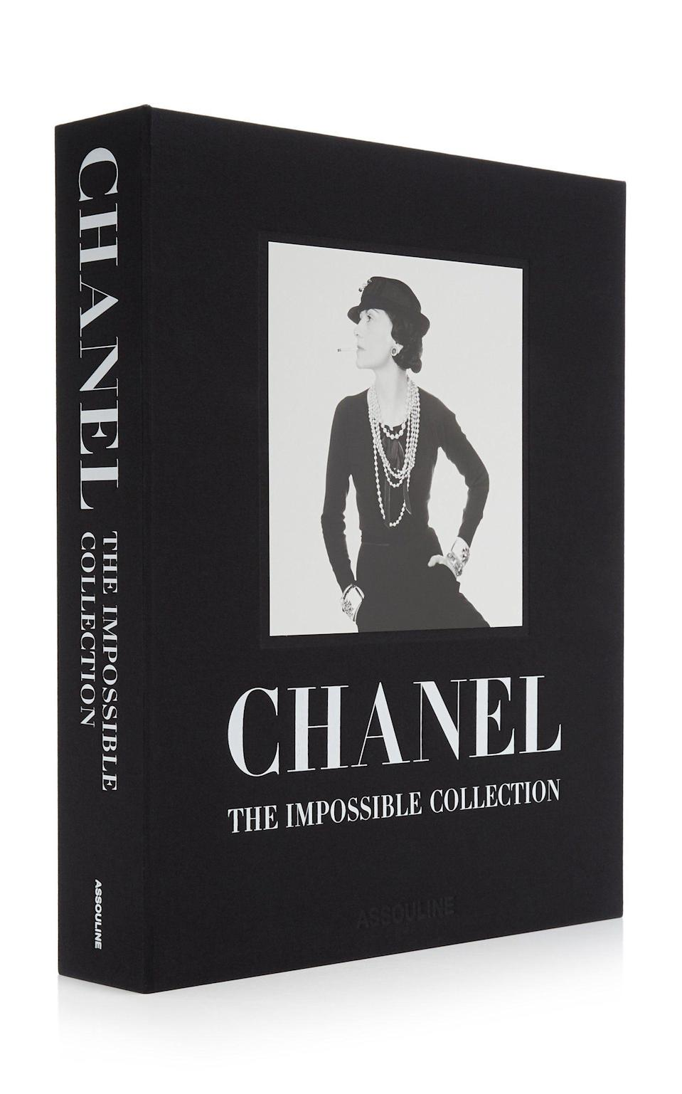 """<p><strong>Assouline</strong></p><p>modaoperandi.com</p><p><strong>$895.00</strong></p><p><a href=""""https://go.redirectingat.com?id=74968X1596630&url=https%3A%2F%2Fwww.modaoperandi.com%2Fhome%2Fp%2Fassouline%2Fthe-impossible-collection-of-chanel%2F495328&sref=https%3A%2F%2Fwww.harpersbazaar.com%2Fwedding%2Fplanning%2Fg36435226%2Flast-minute-wedding-gift-ideas%2F"""" rel=""""nofollow noopener"""" target=""""_blank"""" data-ylk=""""slk:SHOP NOW"""" class=""""link rapid-noclick-resp"""">SHOP NOW</a></p><p>Whether the couple enjoys travel, fashion, art, or food, a coffee table tome will be cherished and well-received. Be conscious of the book's theme and color palette to ensure it works with the overall look of their space.</p>"""