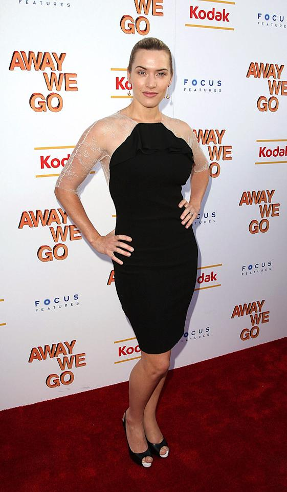 """<a href=""""http://movies.yahoo.com/movie/contributor/1800019032"""">Kate Winslet</a> at the New York Screening of <a href=""""http://movies.yahoo.com/movie/1810022133/info"""">Away We Go</a> - 06/01/2009"""