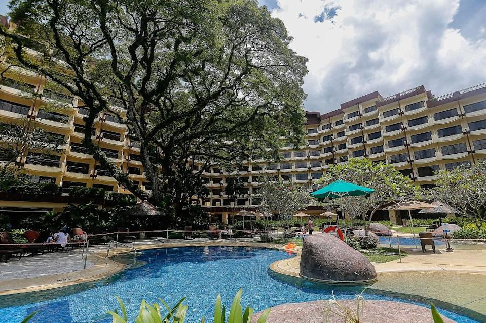 Shangri-La's Rasa Sayang Resort and Spa's occupancy rates have increased to 40 per cent this weekend. ― Pictures by Sayuti Zainudin