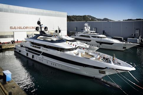 The Sanlorenzo 52Steel Seven Sins launched in February 2017. A parking space for this yacht could start at about HK$60,000 a month. Photo: Handout
