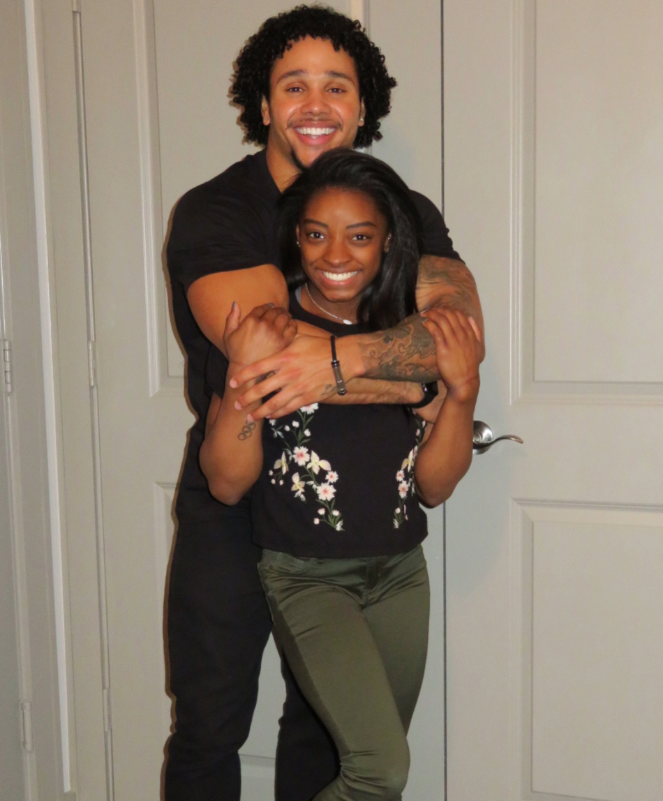 """<p>Stacey shared this photo with a short love note for his girlfriend on Feb. 14. """"I've got your back & you've got mine. All my love, your Valentine,"""" he captioned it. Aww! (Photo: <a rel=""""nofollow noopener"""" href=""""https://www.instagram.com/p/BfNFGI9FEVE/?hl=en&taken-by=staceyervinjr"""" target=""""_blank"""" data-ylk=""""slk:Stacey Ervin via Instagram"""" class=""""link rapid-noclick-resp"""">Stacey Ervin via Instagram</a>) </p>"""