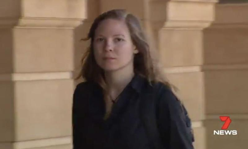 Lena Rebante, 23, is the German backpacker who fought off sexual predator Roman Heinze. Source: 7 News