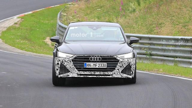 Don't worry, the RS7 will still have usable rear seats as the roll cage mounted in the back is only used during the testing phase.