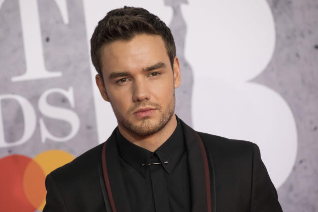 Liam Payne poses for photographers upon arrival at the Brit Awards in London, Wednesday, Feb. 20, 2019. (Photo by Vianney Le Caer/Invision/AP)