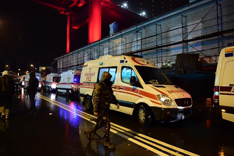 At least 39 people killed as gunman opens fire in Istanbul nightclub